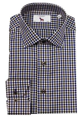 Lorenzo Uomo GINGHAM TRIM FIT