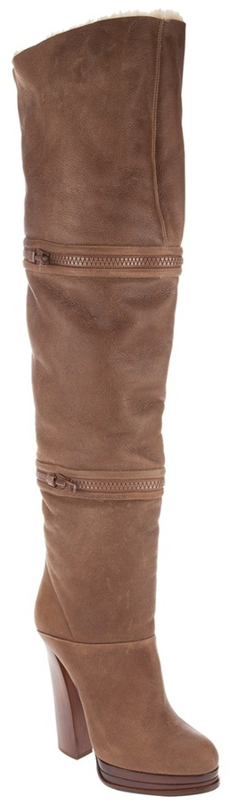 Casadei Zip-off boot