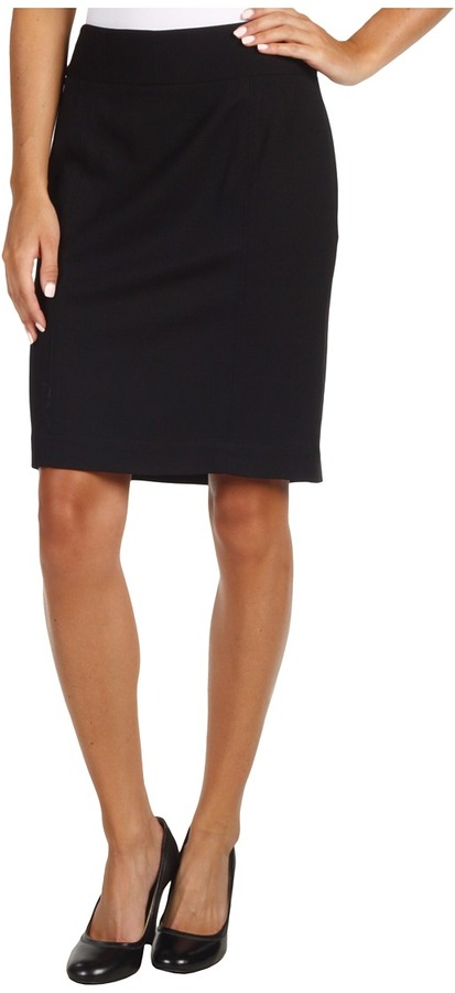 Kenneth Cole New York - Ponte Pencil Skirt (Black) - Apparel