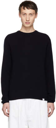 Norse Projects Navy Sigfred Sweater