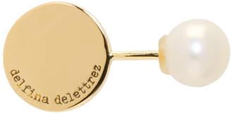 Delfina Delettrez Gold ABC Pearl Earring