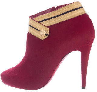 Christian Louboutin Christian Louboutin Marychal 100 Ankle Boots