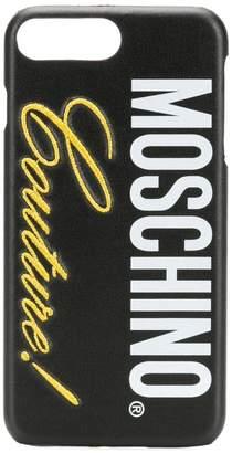 Moschino logo iPhone 8 plus case