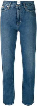 Calvin Klein Jeans fitted straight leg jeans $115.32 thestylecure.com