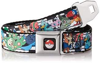 Pokemon Buckle-Down Men's Seatbelt Belt Kids