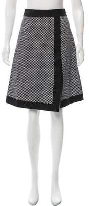 Michael Kors Geometric A-Line Skirt