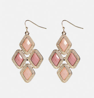 Avenue Mini Pink Chandelier Earrings
