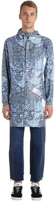 Rains Limited Edition Printed Long Raincoat