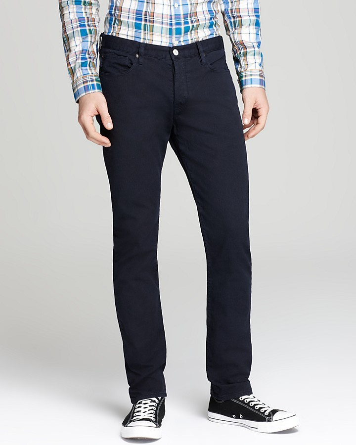 Paul Smith Collection Tapered Jeans in Black