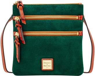 Dooney & Bourke Suede North South Triple Zip
