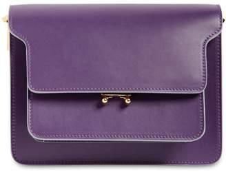 Marni Medium Trunk Saffiano Leather Bag