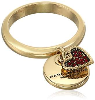 """Marc Jacobs Resort 2016"""" MJ Coin Charm Ring"""