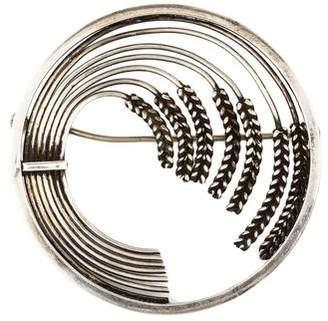 Georg Jensen Wheat Sheaf Circle Brooch