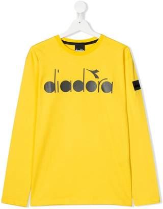Diadora Junior TEEN logo print T-shirt