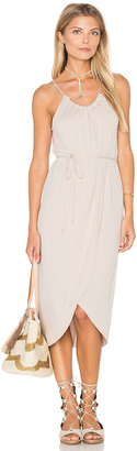 Michael Stars Alina Wrap Halter Dress $138 thestylecure.com