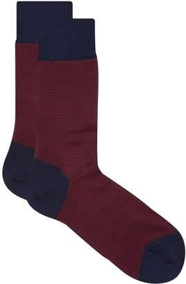 Dore Dore Tonal Striped Socks