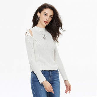 GUESS (ゲス) - ゲス GUESS L/S KARIN SHOULDER TIE SWEATER