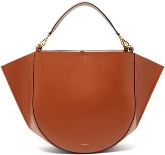 WANDLER Mia leather tote