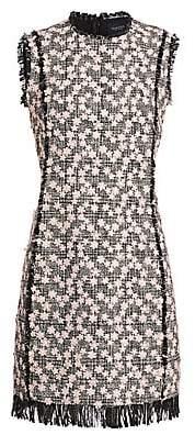 Giambattista Valli Women's Rose Tweed Dress