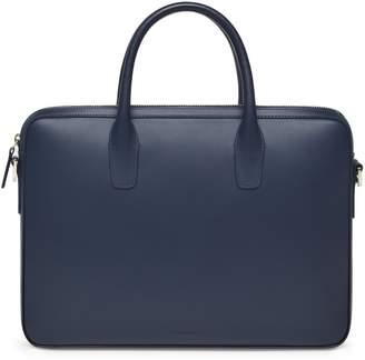 Mansur Gavriel Calf Small Briefcase - Blu