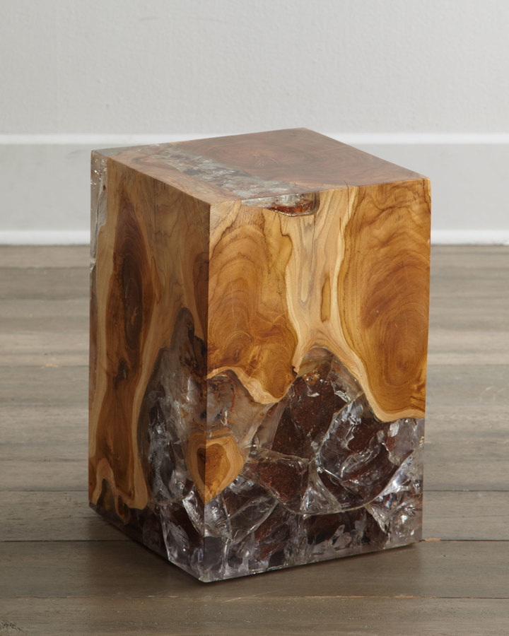 """Horchow """"Sherwood"""" Square Side Table"""