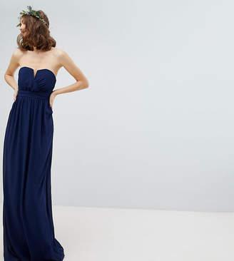 TFNC Tall Bandeau Maxi Bridesmaid Dress