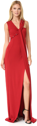 Mugler Sleeveless Gown $3,050 thestylecure.com