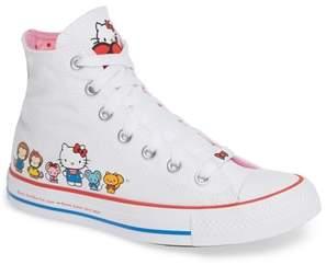 Converse Chuck Taylor(R) All Star(R) Hello Kitty High Top Sneaker