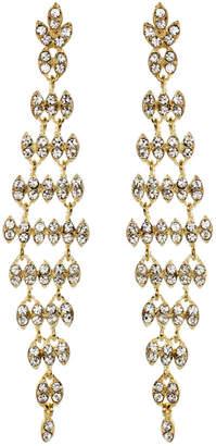 Amrita Singh Cz By Kenneth Jay Lane Estelle Plated Crystal Drop Earrings