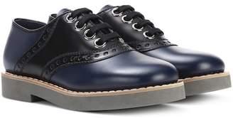 Miu Miu Leather Oxford shoes