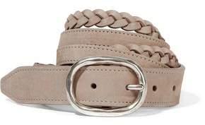 Rag & Bone Braided Nubuck Belt