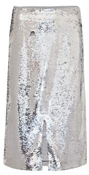 Ganni Sequined skirt