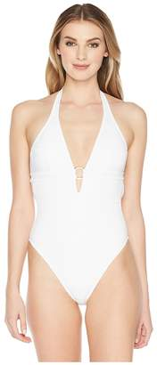 Letarte Halter with Ring One-Piece Women's Swimsuits One Piece