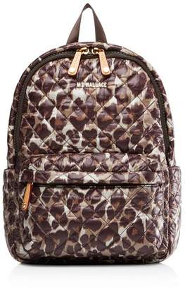 MZ Wallace Metro Small Leopard Backpack