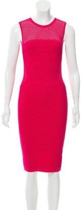 Line Sleeveless Midi Dress
