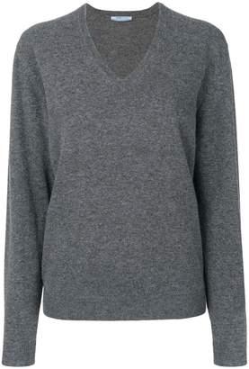 Prada v-neck oversized sweater