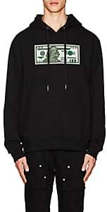 Mostly Heard Rarely Seen 8-Bit Men's Hundred-Dollar-Bill Cotton Hoodie-Black