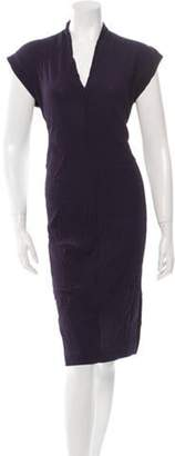 Maison Margiela Sleeveless V-Neck Dress w/ Tags Purple Sleeveless V-Neck Dress w/ Tags