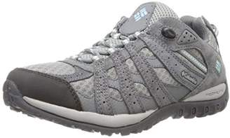 Columbia Redmond, Women's High Rise Hiking Shoes, Multicolor (Boulder/Sky Blue), (36 EU)