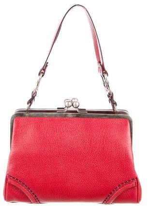 Burberry Burberry Small Leather Shoulder Bag