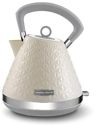 Morphy Richards 108132 Cream Pyramid Kettle