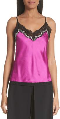 Alexander Wang Lace & Satin Camisole
