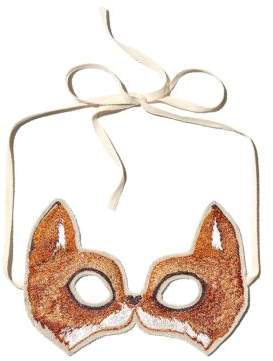 Coral & Tusk Fox Embroidered Mask