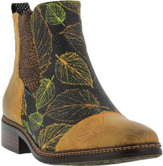 Spring Step L'Artiste by Leather Booties - Woodland