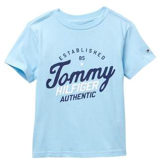 Tommy Hilfiger Legit Short Sleeve Tee (Little Boys)