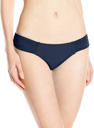 Seafolly Women's Goddess Pleated Bikini Bottom