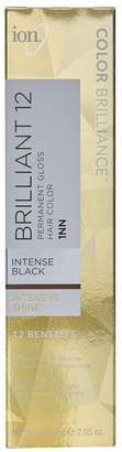 Ion Brilliant 12 Intense Neutrals 1NN Darkest Intense Black Permanent Creme Hair Color