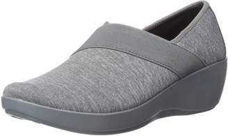 Crocs Women's Busy Day Heathered Asym Wedge Flat