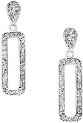 Effy 14K White Gold 0.39 CT. T.W. Diamond Drop Earrings