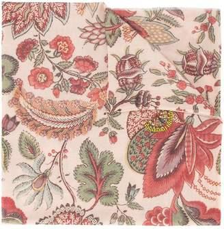 Janavi paisley print scarf